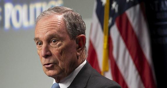 """Były burmistrz Nowego Jorku, miliarder i filantrop Michael Bloomberg wystartuje w wyborach prezydenckich w 2020 roku. Zapowiedział, że zrobi to, by """"pokonać Donalda Trumpa i odbudować Amerykę"""". AP podaje, że wkrótce ruszy intensywna kampania promocyjna nowego kandydata."""