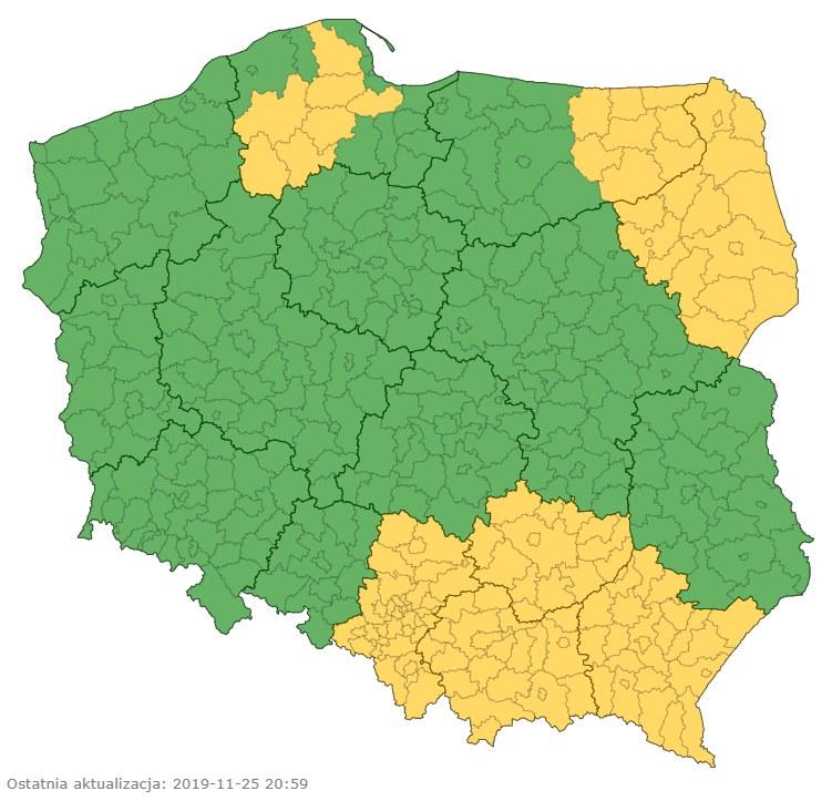 /IMGW-PIB / pogodynka.pl /