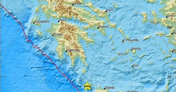 Według Amerykańskiej Agencji Sejsmologicznej grecką wyspę Kretę nawiedziło trzęsienie ziemi o magnitudzie 6. To kolejne mocne trzęsienie w Europie – wczoraj wstrząsy pojawiły się w Albanii i Bośni. Na szczęście nikomu nic się nie stało, nie ma też informacji o zniszczeniach.