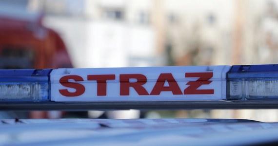 Wybuch gazu w drewnianym domu w Bachowicach koło Wadowic. Poszkodowane zostały dwie kobiety - matka z córką.