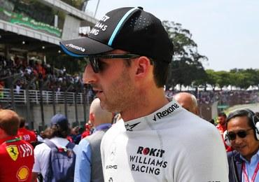 Formuła 1: Robert Kubica ostatni na drugim treningu