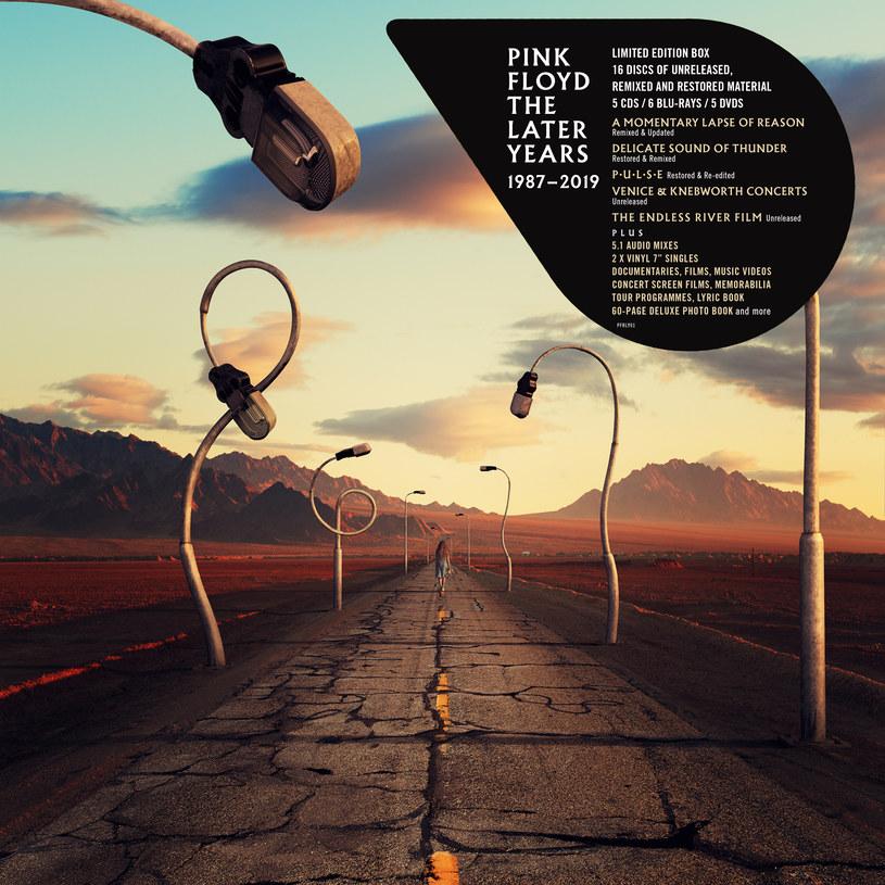 """29 listopada do sprzedaży trafiła płyta (1 CD, 2 LP) zawierająca najważniejsze elementy """"Pink Floyd The Later Years"""". Pełna wersja wydawnictwa składająca się z 16 krążków ukaże się 13 grudnia."""