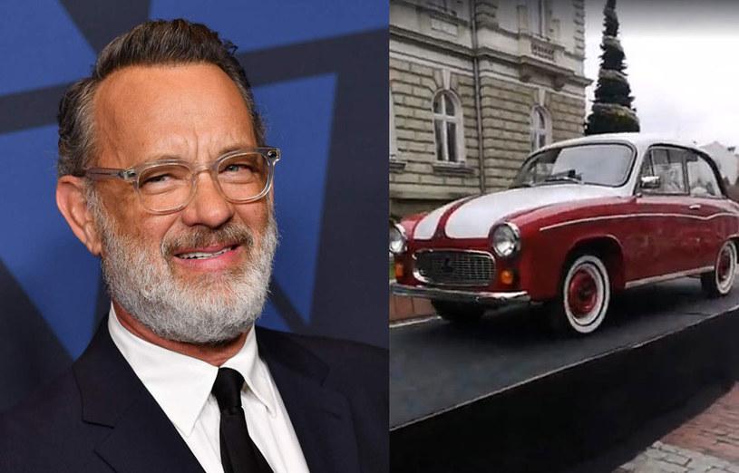 Syrena 105, którą aktor Tom Hanks przeznaczył na aukcję charytatywną, jest już częściowo odrestaurowana. Gotowe są karoseria, obecnie biało-bordowa, i napęd. W poniedziałek Monika Jaskólska, która wymyśliła tę akcję, zaprezentowała samochód w Bielsku-Białej.