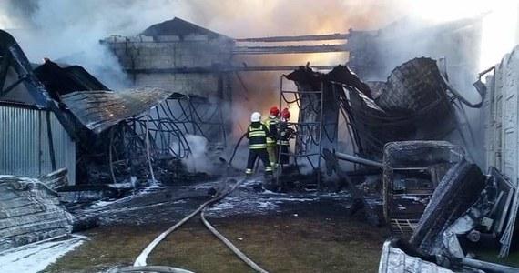 Pożar zakładu wulkanizacyjnego w Mokrej w Śląskiem. Taką informację dostaliśmy od Was na Gorącą Linię RMF FM. Potwierdzili ją nam strażacy.