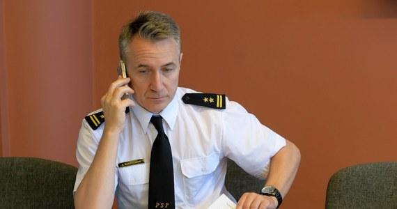 Brygadier Andrzej Bartkowiak został nowym komendantem głównym Państwowej Straży Pożarnej - dowiedział się nieoficjalnie reporter RMF FM Patryk Michalski. Zastąpił na tym stanowisku Leszka Suskiego. Nieoficjalne doniesienia potwierdził później komunikat MSWiA.