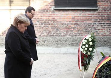 Angela Merkel odwiedziła Auschwitz: Odczuwam głęboki wstyd