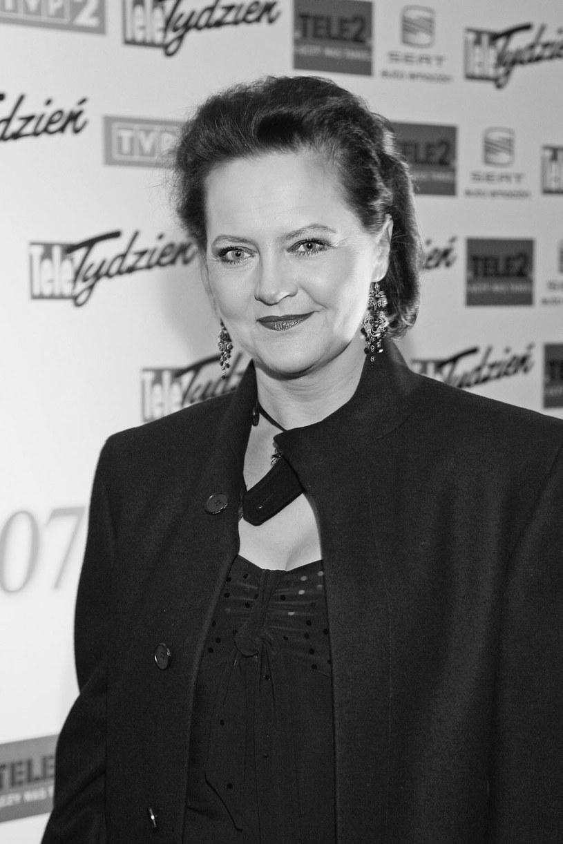 W wieku 56 lat zmarła aktorka Hanna Polk - poinformowała na Facebooku jej siostra. Była pierwszą żoną aktora Piotra Polka.