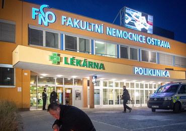Strzelanina w szpitalu w Ostrawie. Zmarła ciężko ranna kobieta