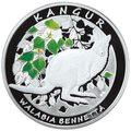 NBP: Nowa moneta kolekcjonerska z wizerunkiem kangura Walabia Bennetta