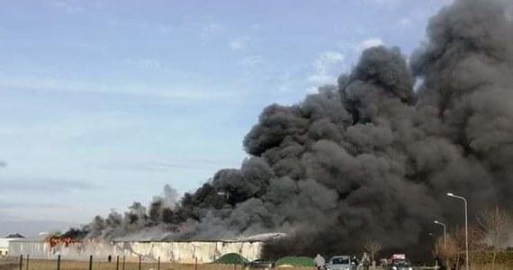 Do pożaru doszło w zakładzie produkującym drzwi w Manasterzu na Podkarpaciu. Jak informuje reporter RMF FM, dwaj pracownicy został poszkodowani. Ogień wciąż nie został opanowany.