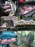 Niecodzienna kontrabanda: Mięso w siedzeniach, pod tapicerką