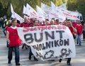 Rozpoczęła się manifestacja pracowników kopalni Kazimierz-Juliusz