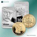 """""""Józef Piłsudski"""" - pierwsze monety w serii """"Stulecie odzyskania przez Polskę niepodległości"""""""