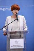 Rafalska: Do końca grudnia do ZUS wpłynęło ponad 424 tys. wniosków emerytalnych