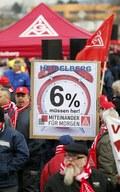 IG Metall zapowiada rozszerzenie strajków przed negocjacjami taryfowymi