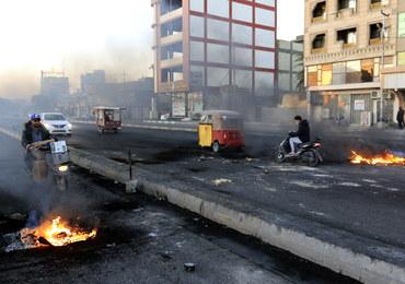 Irak: Demonstranci podpalili biura szyickich partii