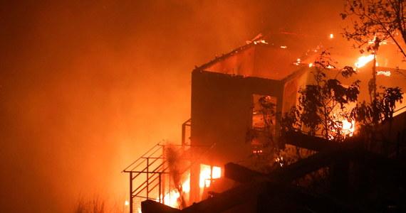 Nie było czasu na jakąkolwiek reakcję, poza ucieczką - relacjonują świadkowie pożaru, który wybuchł w wigilię Bożego Narodzenia w Valparaiso w Chile. Ogień zniszczył 245 domów.