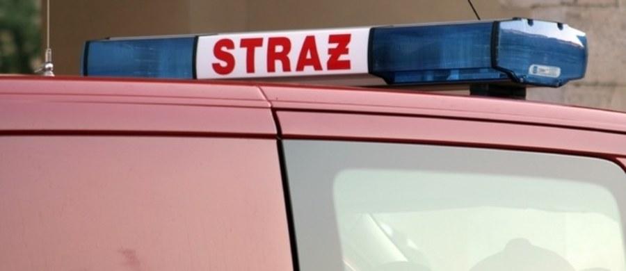 Jedna osoba zginęła w pożarze mieszkania na trzecim piętrze kamienicy przy ul. 6 Sierpnia 76 w Łodzi. To mężczyzna, który miał ok. 40 lat.