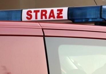 Pożar mieszkania w Łodzi. Jedna osoba zginęła