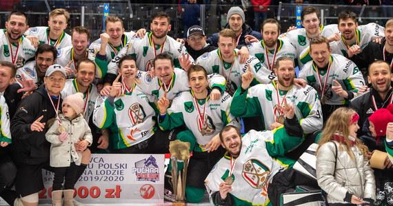 Hokeiści JKH GKS Jastrzębie po raz drugi z rzędu i trzeci w historii zdobyli Puchar Polski. W finale pokonali na tyskim lodowisku Re-Plast Unię Oświęcim 2:0 (0:0, 0:0, 2:0).