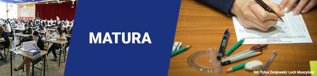 Matura – to egzamin państwowy, przeprowadzany jest przez Okręgowe Komisje Egzaminacyjne. Zastępuje egzaminy wstępne na uczelnie wyższe.   Egzamin zdaje się z przedmiotów obowiązkowych: języka polskiego,...