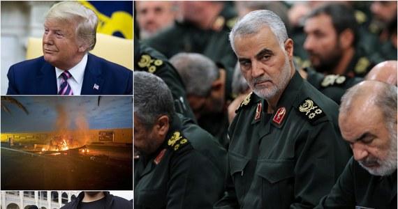 """Oczy całego świata w piątek były zwrócone na Bliski Wschód. Tam – w ataku rakietowym USA – zginął irański generał Kasem Sulejmani, dowódca elitarnej jednostki Al Kuds. Potwierdzono, że rozkaz zabicia Sulejmaniego wydał prezydent Donald Trump. """"Iran pomści zabicie generała w odpowiednim czasie i odpowiednim miejscu"""" – takie oświadczenie w sprawie wydała irańska Rada Bezpieczeństwa Narodowego. W kraju zawrzało na scenie politycznej. Obecny szef PO Grzegorz Schetyna ogłosił, że nie będzie się ubiegał o reelekcję w styczniowych wyborach. Jako swojego następcę zarekomendował Tomasza Siemoniaka. Zebraliśmy dla Was najważniejsze wydarzenia piątku!"""