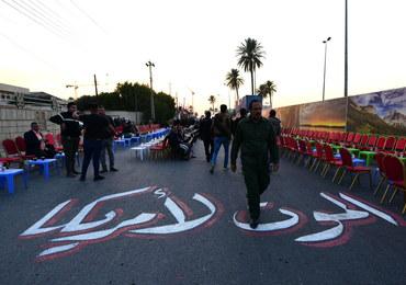 """Tysiące ludzi w centrum Bagdadu. """"Śmierć Ameryce"""""""