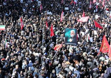 Pogrzeb Sulejmaniego. 56 osób zginęło podczas uroczystości