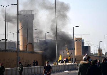 MSZ: Nikt nie ucierpiał w ataku na dzielnicę rządową w Bagdadzie