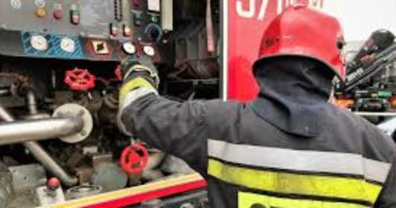Pożar domu jednorodzinnego w Białym Borze niedaleko Mielca na Podkarpaciu. Zginęła 60-letnia kobieta.