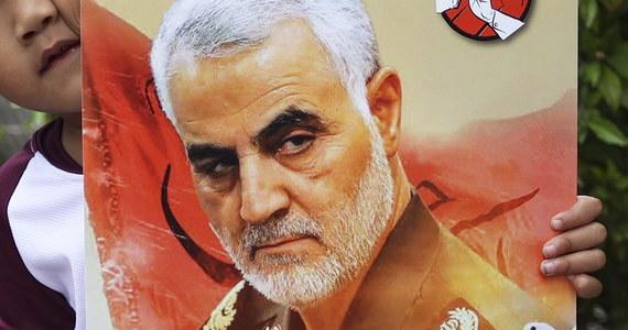 """Śmierć generała Kasema Sulejmaniego """"ucieszyła serca wiernych"""" - napisali terroryści z Państwa Islamskiego w swoim wydawanym online tygodniu Al-Nabaa. To pierwszy komentarz organizacji w sprawie zabicia irańskiego generała przez Stany Zjednoczone."""