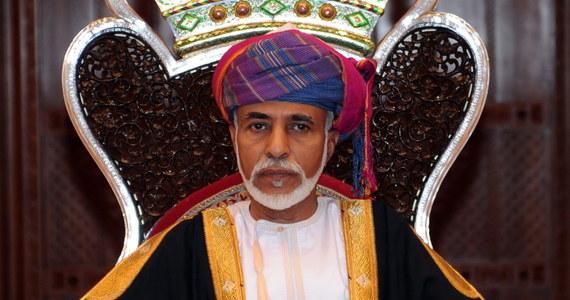 Sułtan Omanu Kabus ibn Said as-Said, który sprawował absolutną władzę w tym pustynnym państwie od prawie półwiecza, zmarł w piątek wieczorem w wieku 79 lat - poinformował oficjalnie pałac królewski cytowany przez państwowe media. Nie podano przyczyny zgonu.