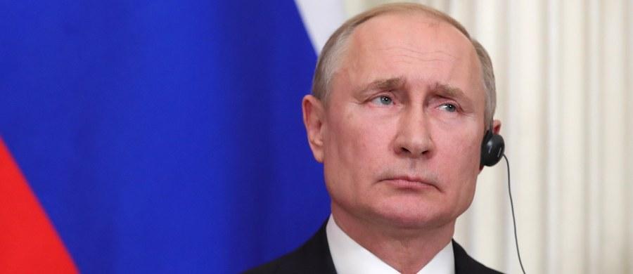 Rosja zdoła samodzielnie ukończyć gazociąg Nord Stream 2, jest tylko kwestia terminów - powiedział prezydent Władimir Putin. Wyraził nadzieję na zakończenie budowy i uruchomienie Nord Stream 2 do końca 2020 roku lub w pierwszym kwartale 2021 roku.