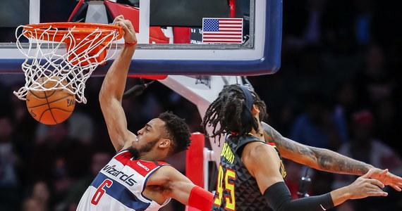 """Koszykarze Utah Jazz pokonali na wyjeździe Washington Wizards 127:116 i odnieśli tym samym już dziewiąte zwycięstwo z rzędu. Dzięki ostatniej serii """"Jazzmani"""" są na trzecim miejscu w Konferencji Zachodniej."""