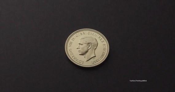 Milion funtów za złotego suwerena! To wynik aukcji monety wybitej w 1936 za panowania króla Anglii, Edwarda VIII. Wyprodukowano tylko 6 takich monet.
