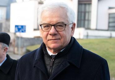 Czaputowicz: Polska przywiązuje wagę do zachowania materialnych dowodów Holokaustu