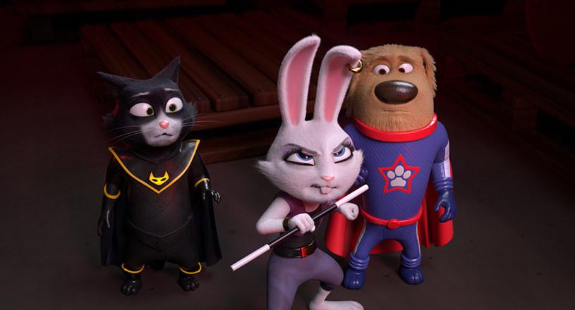 """Od 31 stycznia w kinach świat ratować będą """"SuperPies i TurboKot"""", czyli najwspanialsi superbohaterowie wśród czworonogów."""