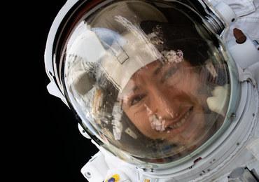Astronautka rekordzistka wraca na Ziemię