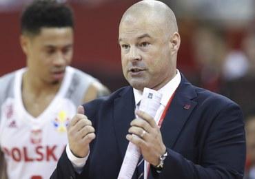 """""""Pol-basket"""", czy trener Mike Taylor odpowiada Waczyńskiemu"""