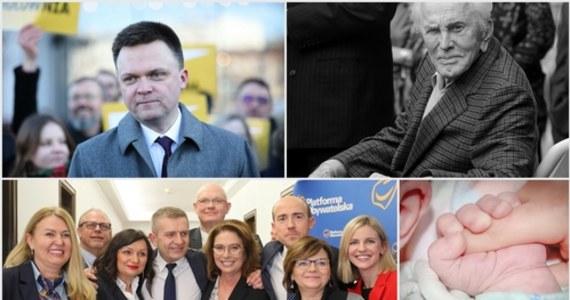 Po wczorajszym ogłoszeniu przez marszałek Sejmu Elżbietę Witek daty wyborów prezydenckich, oficjalnie ruszyła kampania wyborcza. Droga do prezydenckiego fotela niefortunnie zaczęła się dla Szymona Hołowni, który zaledwie kilka godzin po rozpoczęciu kampanii musiał przepraszać za swój spot wyborczy. Zdaniem krytykujących pojawiły się w nim m.in. aluzje do katastrofy smoleńskiej. Kandydatka KO Małgorzata Kidawa-Błońska zaczęła kampanię od przedstawienia składu swojego sztabu. Wbrew wcześniejszym spekulacjom, jej kampanią pokieruje Bartosz Arłukowicz. Również w czwartek dotarła smutna wiadomość z Ameryki. W wieku 103 lat zmarła legenda kina Kirk Douglas. Wszystkie najważniejsze wydarzenia czwartku znajdziecie w specjalnym Podsumowaniu Dnia RMF FM.