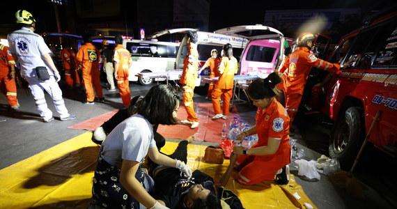 Ambasada RP w Bangkoku monitoruje sytuację. Na obecną chwilę nie ma informacji o poszkodowanych obywatelach polskich - poinformowało w sobotę późnym wieczorem biuro rzecznika prasowego w Ministerstwie Spraw Zagranicznych.