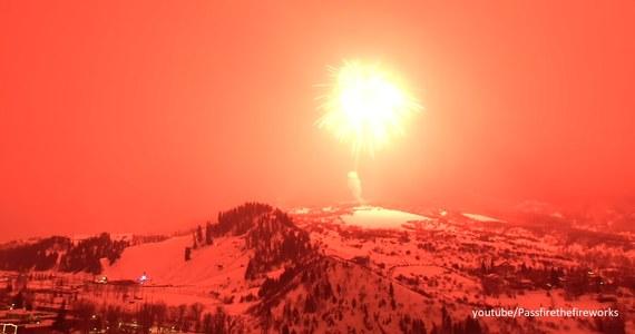 Mieszkańcy Steamboat Springs w stanie Kolorado uczcili karnawał w wyjątkowy sposób. W niebo został wystrzelony największy na świecie ładunek fajerwerków – podaje CNN.