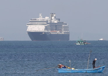 Statek przez 2 tygodnie nie mógł zawinąć do portu. Podejrzewano, że ktoś ma koronawirusa