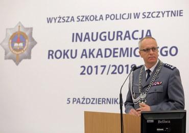 Marek Fałdowski złożył rezygnację z funkcji komendanta Wyższej Szkoły Policji w Szczytnie
