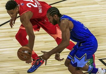 NBA: Drużyna LeBrona Jamesa lepsza od teamu Giannisa w Meczu Gwiazd