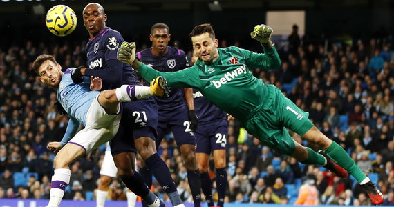 Manchester City - West Ham 2-0. Grał Łukasz Fabiański - Sport w INTERIA.PL