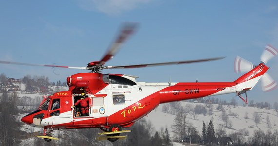 Wypadek w rejonie Suchych Czub w Tatrach. Ratownicy TOPR zostali wezwani na pomoc turystce.