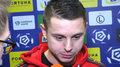 Legia - Jagiellonia 4-0. Ariel Borysiuk po meczu. Wideo