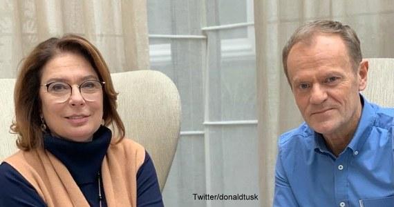"""Szef Europejskiej Partii Ludowej i były premier Donald Tusk spotkał się z kandydatką PO na prezydenta Małgorzatą Kidawą-Błońską. """"Właśnie zameldowałem pani marszałek pełną gotowość bojową"""" - napisał Tusk w niedzielę na Twitterze."""