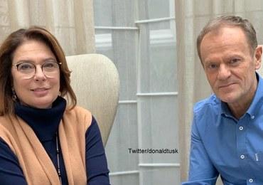 """Tusk spotkał się z Kidawą-Błońską. Zameldował """"pełną gotowość bojową"""""""